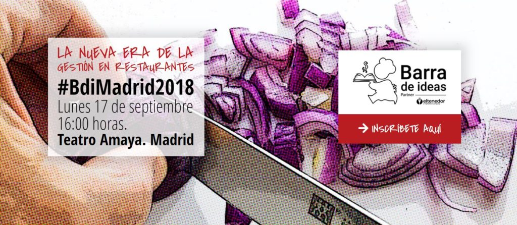 Barra de Ideas Madrid 2018 BDI